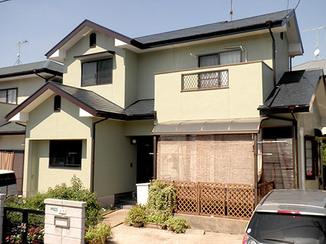 外壁・屋根リフォーム 塗装で新築のような外観へ