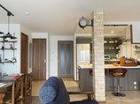 マンションリフォームアンティーク調の内装と最新設備が融合したオシャレなマンション