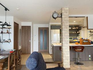 マンションリフォーム アンティーク調の内装と最新設備が融合したオシャレなマンション