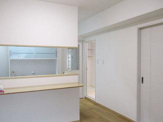 マンションリフォーム 最新の水廻り設備を揃えた、快適で暮らしやすいマンション