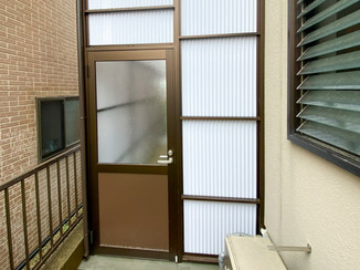 エクステリアリフォーム プライバシーを守り、スペースを有効活用できる屋外収納